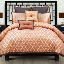 Orange Camo Bed Set Orange Bedding Comforter Set Chevron Canada
