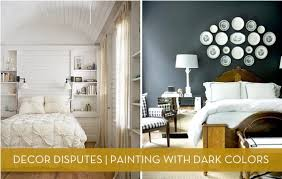 decor disputes does dark paint make a room feel smaller curbly