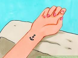 3 ways to get a tattoo without your parents knowing wikihow