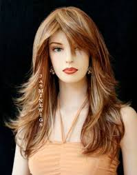 haircut style for long hair with bangs hairstyle with long bangs