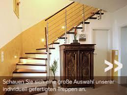 treppen holzstufen betontreppe mit holzstufen und edelstahl geländer zukünftige