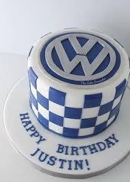 vw logo 18th birthday cake made by sweetsbysuzie melbourne