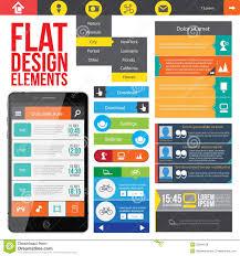 free web designer flat web design elements royalty free stock photos image 32264128