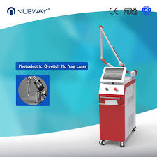 alexandrite medical q switched nd yag laser tattoo removal machine