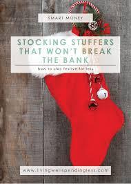 where find stocking stuffers that won u0027t break bank