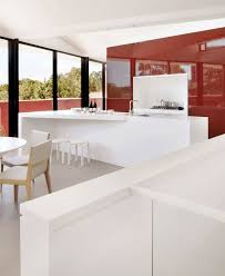 renovated warehouse with marsala color facade interiorzine