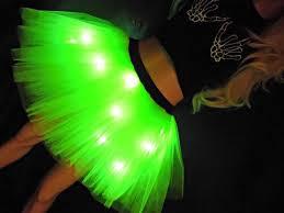 budget lights tutu neon green light up tutu www tutufactory