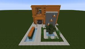Wooden Modern House  Minecraft  Minecraft Project - House 2 home furniture
