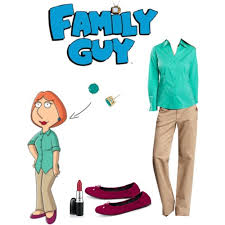 Peter Griffin Halloween Costume Lois Griffin Wig