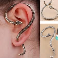 earing design lovely charming snake wrap design earring personalized ear