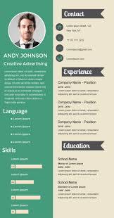 Resume Ideas 46 Best Infographic Resume Ideas Images On Pinterest