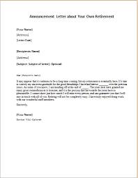 retirement announcement retirement announcement letter writeletter2
