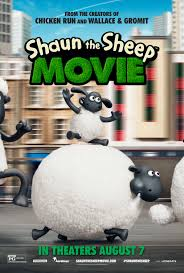 character posters debut shaun sheep movie