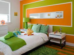 wandgestaltung in grün wände streichen farbideen für orange wandgestaltung