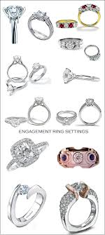 wedding band types types of wedding rings and engagement rings rikof