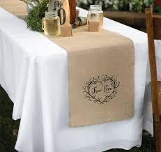 wedding table runners personalized table runners