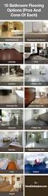 best 25 bathroom flooring options ideas on pinterest bathroom