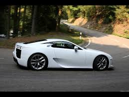 white lexus 2012 lexus lfa white side angle turn 1280x960 wallpaper