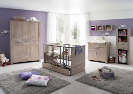 wooden baby furniture design idea with gray rugs with purple paint
