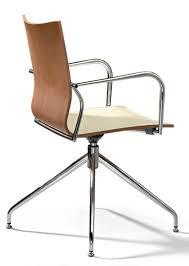 chaise de bureau en bois engageant chaise bureau design siege giratoire ixelle hd made