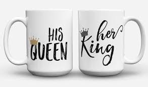 his mugs his and hers coffee mug set his king king and