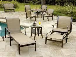 aluminum sling patio furniture design home design ideas
