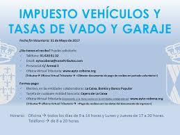 pago de impuesto vehicular en linea línea verde ayuntamiento de cobeña fin del período voluntario de