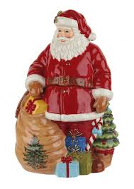 spode tree santa 12 inch cookie jar spode usa
