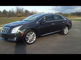 cadillac xts 4 sold 2013 cadillac xts 4 awd luxury collection 11k graphite