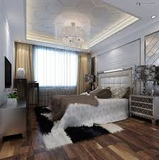 Luxury Bedroom Ceiling Design White Table Lamp On Bedside Dark by Bedroom Magnificent Parquet Flooring Modern Bedroom Decoration