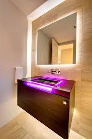 Designer Bathroom Lighting Bathroom Ideas Led Bathroom Lighting Vanity With Frameless Mirror