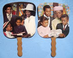 back in the day the church fan was a big part of the black church