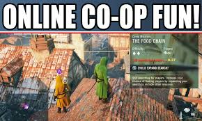assassin u0027s creed unity multiplayer coop gameplay online free roam