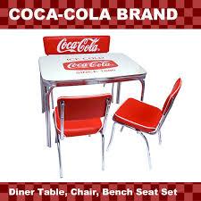 coca cola table and chairs lavieen rakuten global market american diner coca cola brand