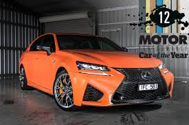 lexus gsf red lexus gs f 2017 performance car of the year 12 motor