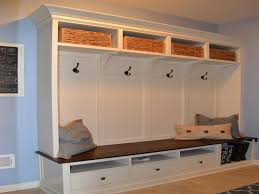 mudroom locker plans diy ikea billy bookcases with glass doors mudroom lockers with bench