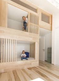 small loft ideas kids u0027 bunk beds that are built into the design of the loft