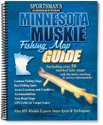 Lake Maps Mn Minnesota Muskie Fishing Map Guide Sportsman U0027s Connection