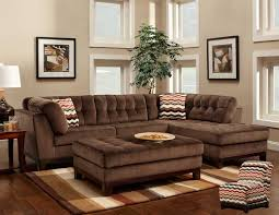 Brown Sectional Sofa With Chaise Comfortable Large Sectional Sofas Furnitures Living Room
