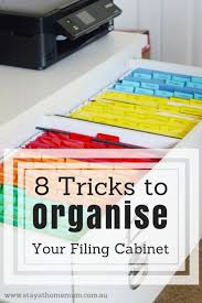 how to organize a file cabinet system 8 tricks to organise your filing cabinet