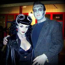 Bride Frankenstein Halloween Costume Ideas Steve Agree Couple Halloween