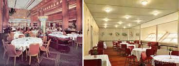 100 titanic first class dining room first class dinner on
