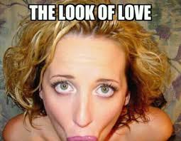Weird Girl Meme - the look of love