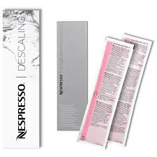 siege nespresso nespresso descaling kit clean your coffee machine