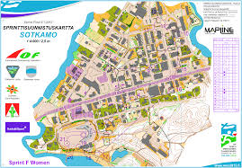 Coverage Map Sprint Orienteering In Ireland Official Website Of The Irish