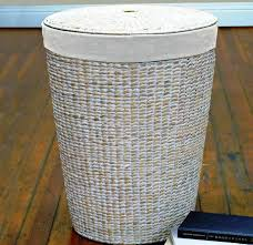 round laundry hamper for home decor u2014 sierra laundry