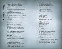 Le Meme Que Moi Lyrics - watoo watoo lyrics