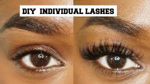 How Expensive Are Eyelash Extensions Diy Mink Individual Eyelashes Easy U0026 Cheap Semi Permenant