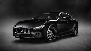 maserati quattroporte interior black maserati unveils new special edition ghibli nerissimo at new york