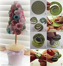 Paper Crafts For Home Decor Kreativiti Diy Relaks Minda Crafts Flowers Pinterest